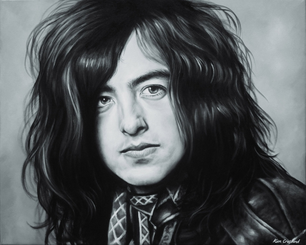 Jimmy Page by chaosart